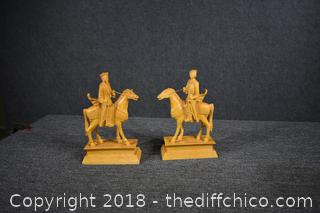 Pair of Oriental Statues