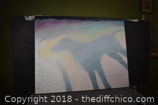 "Brent Richardson ""Shadow of the Dog"" Original-Retail $1500"