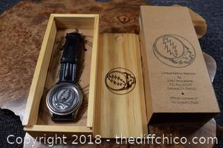 NIB Grateful Dead Watch