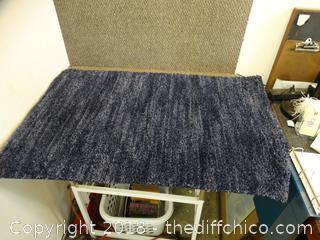 Blue Rug 46x29
