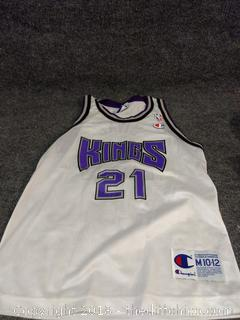 Divac Kings Jersey - Youth Size M (10-12)