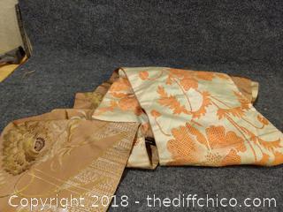 Japanese Kimono Fukuro Obi Sash Belt Woven - Authentic - Top Quality Silk