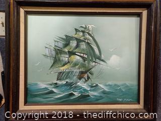 "Original Painting Signed - 27"" x 23"""