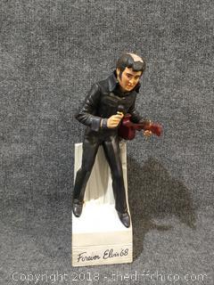 """""""Forever Elvis '68"""" Decanter/Musical Box"""