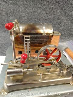 Jensen Steam Engine Dry Fuel Fired Steam Engine Model
