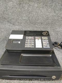 Casio Cash Register - Working - with Key