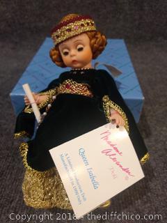"Madame Alexander ""Queen Isabella"" Doll with Original Box"
