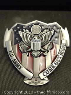 US Army Belt Buckle - NEW