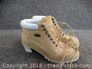 Lugz  Boots size 10