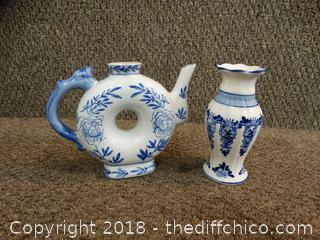 Blue & White Vases