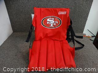 49ER Bleacher Chair