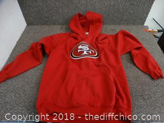 49er Sweatshirt size Med