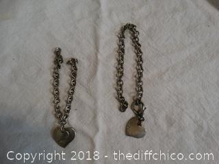 925 Tiffany company Braceltes