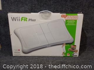 Wii Fit Plus - NEW