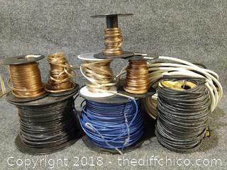 Various Gauges of Copper Wire - Bucket Included