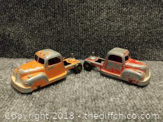 1950's Tootsie Toys Metal Trucks