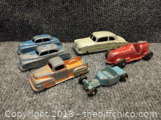 Vintage Metal Car Lot