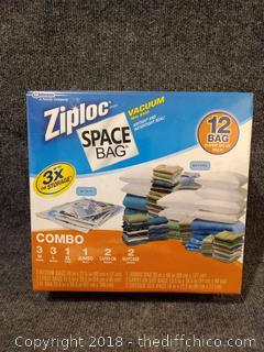 Ziploc Space Bags - NEW