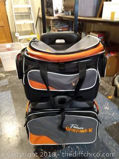 Rolling Team Brunswich Bag - Detachable Top Bag
