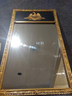 """Vintage Eagle Mirror - 38"""" x 22"""""""
