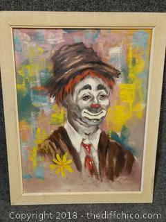 "Original Oil on Canvas - 17"" x 20"""