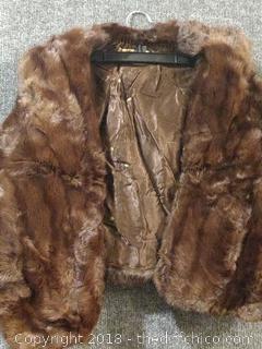 Marie Anne Vintage Fur Stole