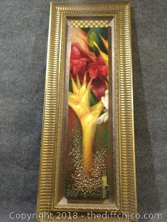 "Painting with Certification of Authenticity - 18"" x 46"""