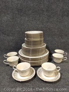 Noritake Ivory China #7561 Park Ridge - 37 Pieces