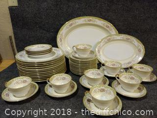 Noritake China 55 Pieces