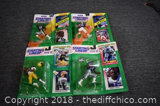 Starting Line Up Football Figures