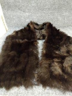 Vintage Fur Stole Wrap