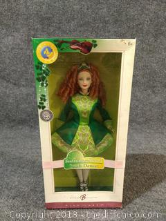 Barbie Irish Dance Festivals of the World Doll - NEW IN BOX