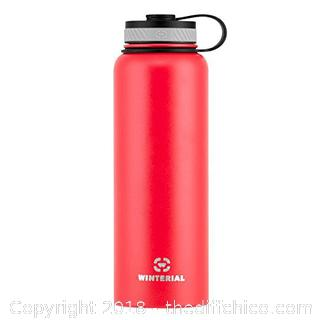 40-Ounce (Oz) Insulated Water Bottle, Vacuum Sealed Double Walled Thermos to Keep Your Drink Hot or Cold