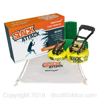 Sports Slack-Line Complete Kit with Training Line R7