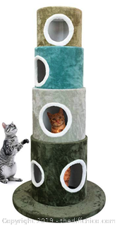 FrontPet Stackable Multi-Color Cat Tree Tower, - A38