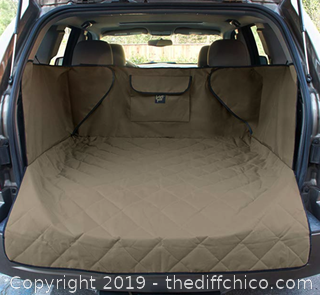 Frontpet Xl Tan Cargo SUV Cover Protector - A37