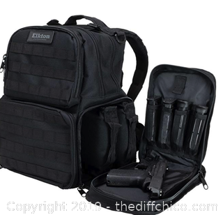 Elkton Outdoors Pistol Range Backpack - A30