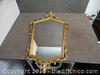 Plastic Framed Mirror