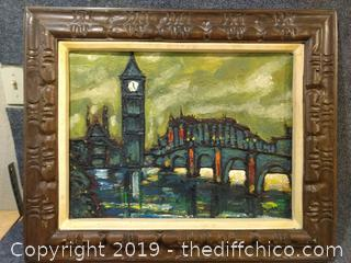 """Original Oil on Canvas Signed by Artist - 25"""" x 31"""""""