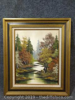 """Original Oil Painting  - Signed by Artist - 23"""" x 28"""""""