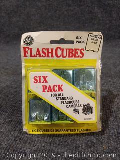 Vintage GE Flash Cubes