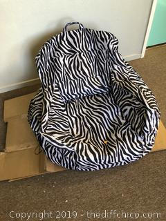 Bean Bag chair Zebra Striped A1