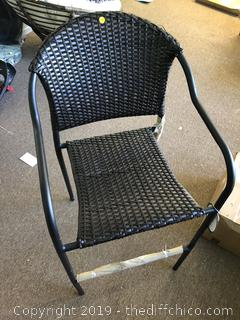 Outdoor / indoor Chair whicker material A10