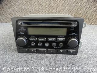 Stock Honda Radio