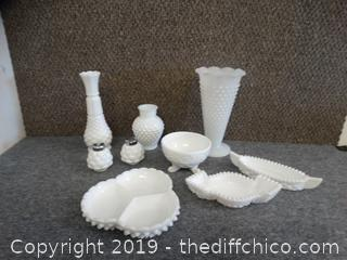 Milk Glass Dishes