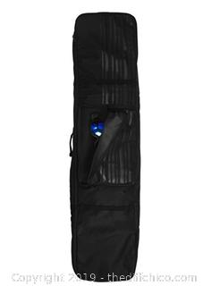 Winterial 2019 Snowboard Bag with Wheels, Double Layered Water Resistant X32