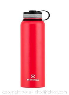 Winterial 40-Ounce (Oz) Insulated Water Bottle, X25