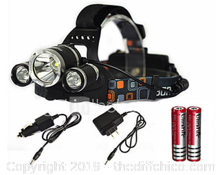 Boruite Headlamps LED Emitters 6000 lm - X24