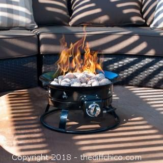 Driftsun Patio Portable Outdoor 58,000 BTU Propane Patio Fire Pit (JD51)
