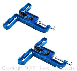 Winterial Ski and Snowboard Vise for Tuning, Repair and Waxing, Set of Two Vise X9